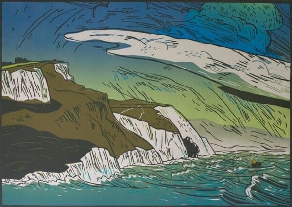 Colin Moore White Nothe, Jurassic Coast