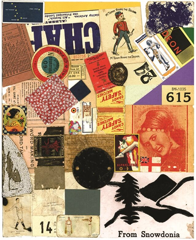 Peter Blake Homage to Schwitters