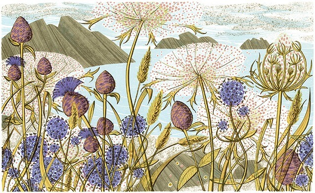 Island Summer - Angie Lewin