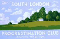 south-london-procrastination-club-blue-martin-grover