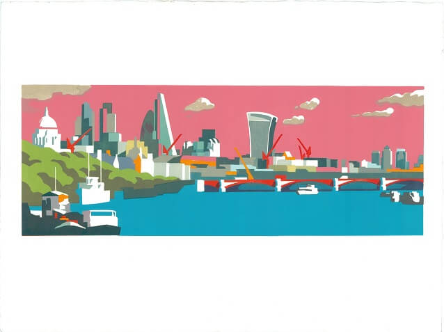 City of London Pink Paul Catherall