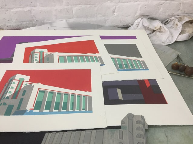 Paul Catherall Hoover Building Work In Progress