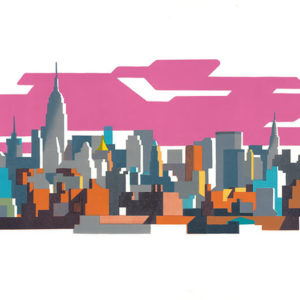 New York Pink-Paul Catherall