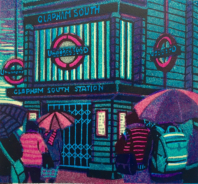 Tube Strike by Gail Brodholt