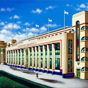 Hoover Building - Sunlight - John Duffin