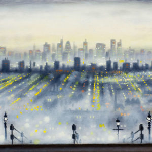 London from Alexandra Palace - John Duffin
