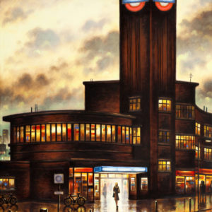 Tube Station Night (Park Royal) - John Duffin