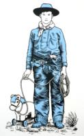 Blue Cowboy - Nick Morley