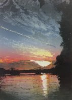 Chelsea Bridge Sunset - Steve Edwards