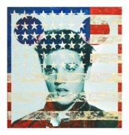 Elvis Flag - David Scheinmann