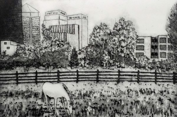 Horse on the Isle of Dogs - Susan Short