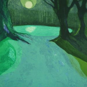 Wishing Pond (green) - Monica Macdonald Ralph