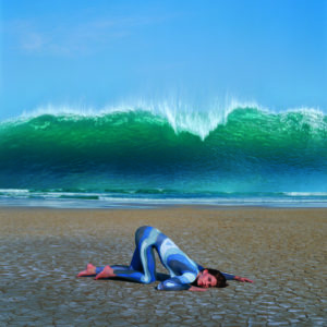 Storm Thorgerson - Wave Deepest Blue