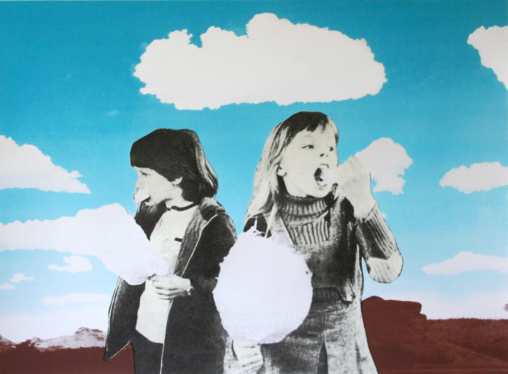 'The Cloud Eaters' (silkscreen)