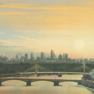 Battersea Bridge Sunrise - Emma Reynolds