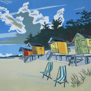The Beach At Wells - Colin Moore