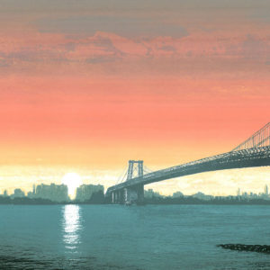 Williamsburg Bridge Sunset - Emma Reynolds