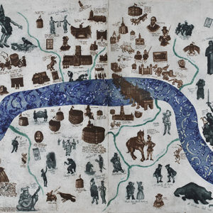 A Map of Shakespeare's London - Mychael Barratt