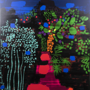 Red Garden Path - Bruce McLean