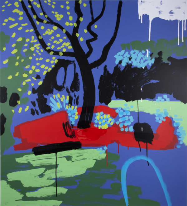 Turquoise Hosepipe Ban - Bruce McLean