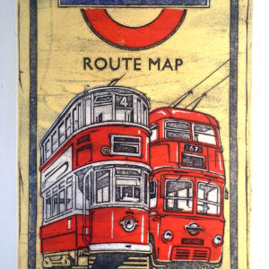 Route map - Barry Goodman